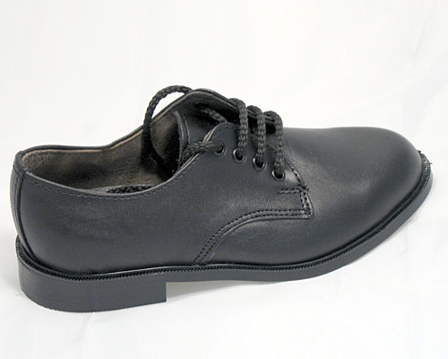 B243 - Boys Dress Shoe with Sturdy PVC Outsole