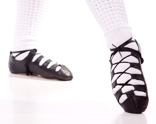 How To Lace Irish Dance Shoes