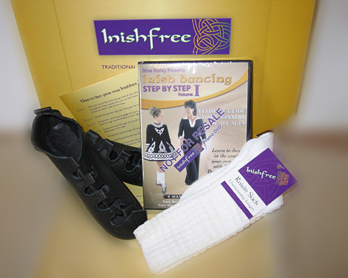 Irish Dance Shoes Gift Box